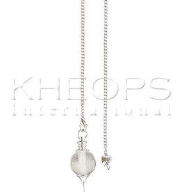 Kheops International Clear Quartz Sephorothon Pendulum
