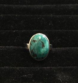Saffron Fine Jewellery Ltd. Turquoise Silver Ring