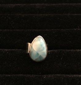 Saffron Fine Jewellery Ltd. Larimar Silver Ring
