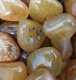 Family Rocks Carnelian Large Tumbled Stone