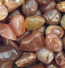 Family Rocks Carnelian Tiny Tumbled Stone