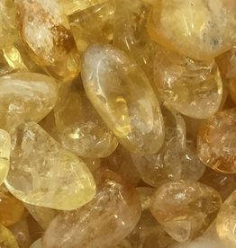 Family Rocks Citrine Tumbled Stone