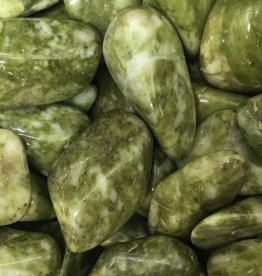 Nature's Expression Epidote Tumbled Stone