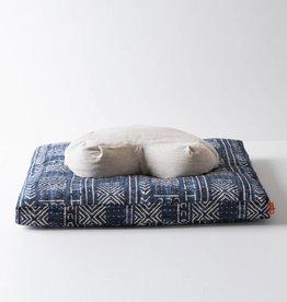 Halfmoon Halfmoon Sit Set - Crescent Meditation Cushion with Zabuton - Natural Linen