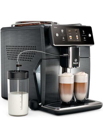 Machine à espresso automatique Saeco Machine à café espresso Saeco Super Automatique  Xelsis Titanium