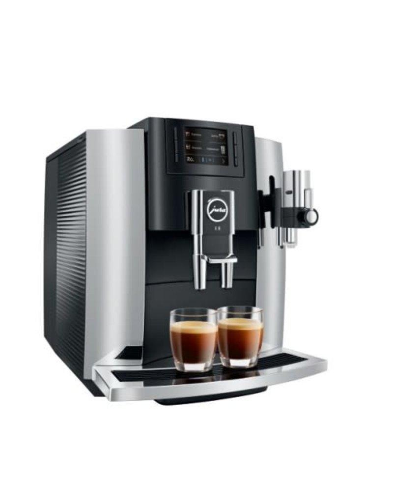 Jura Machine à café espresso Jura Impressa E8 Chrome