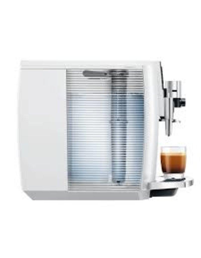 Jura Machine à café espresso Jura Impressa E8 Blanc Piano