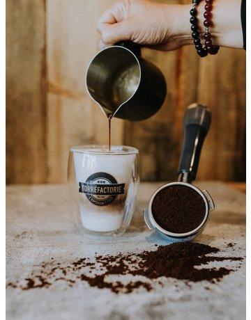 Verre double parois Cappuccino - Torréfactorie