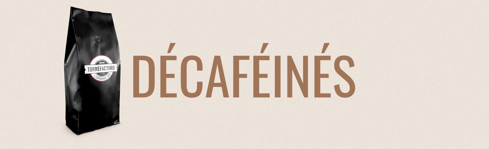 Café ou Thé Décaféiné