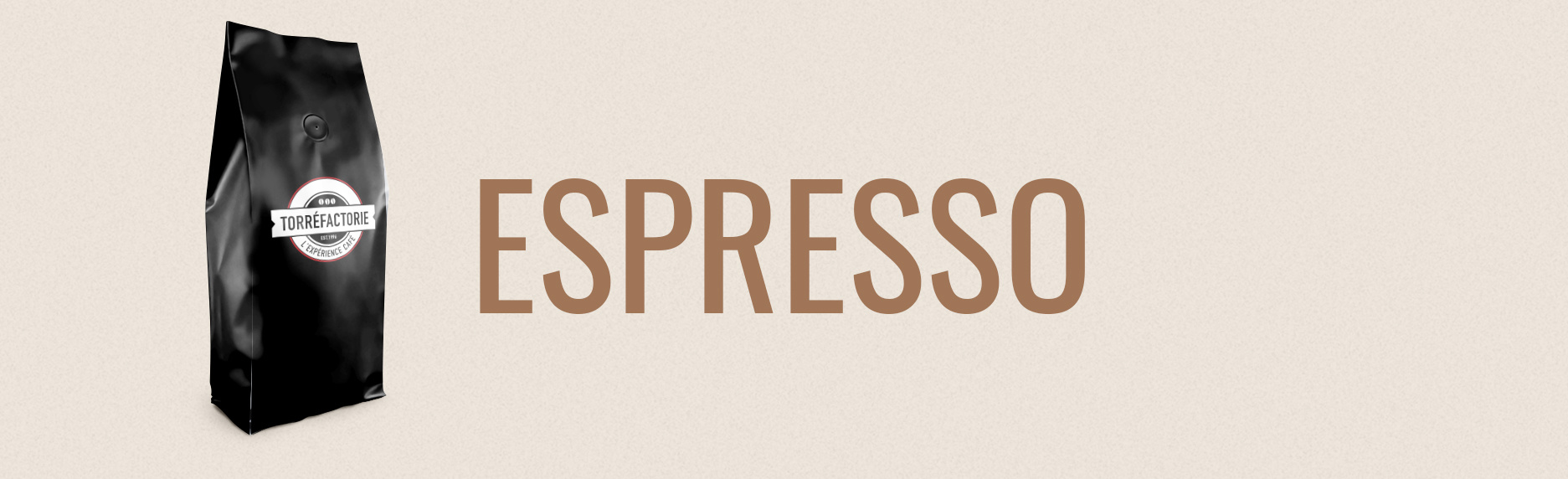 Café pour espresso ou expresso
