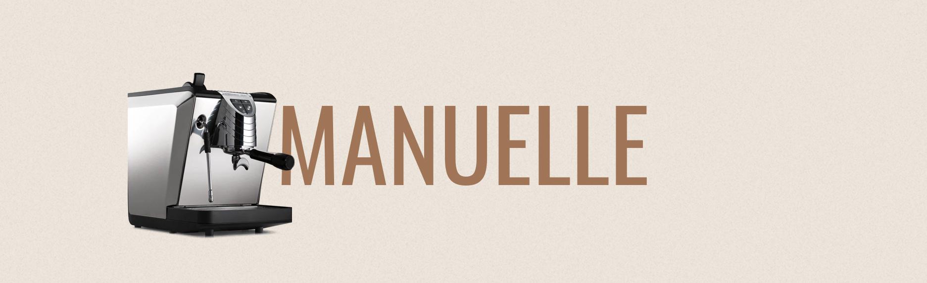 Machine Espresso Manuelle
