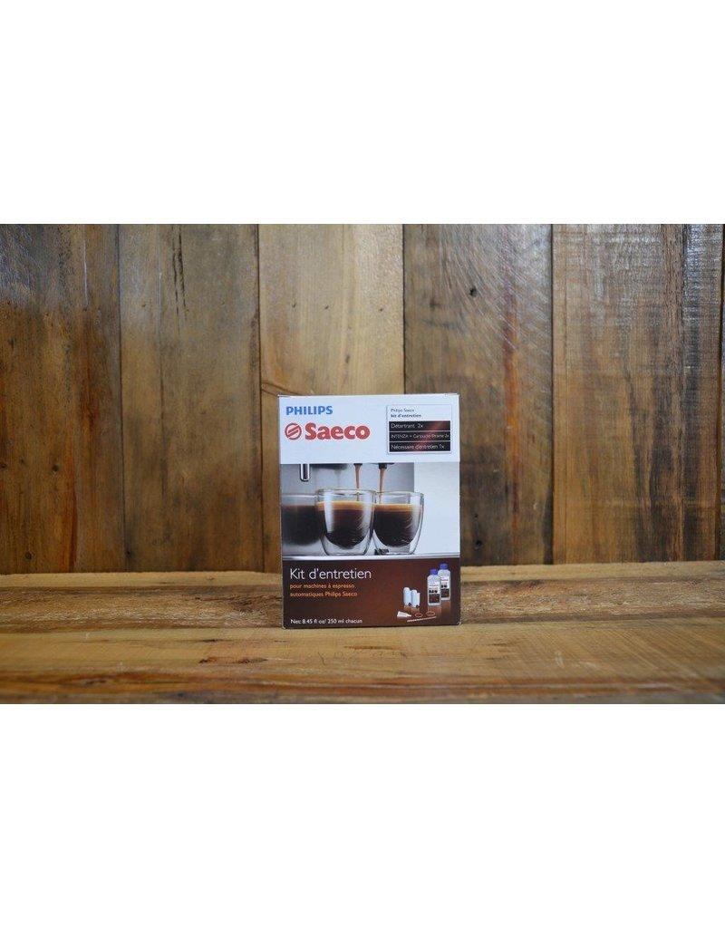 Ensemble d'entretien pour machine espresso saeco super-automatique