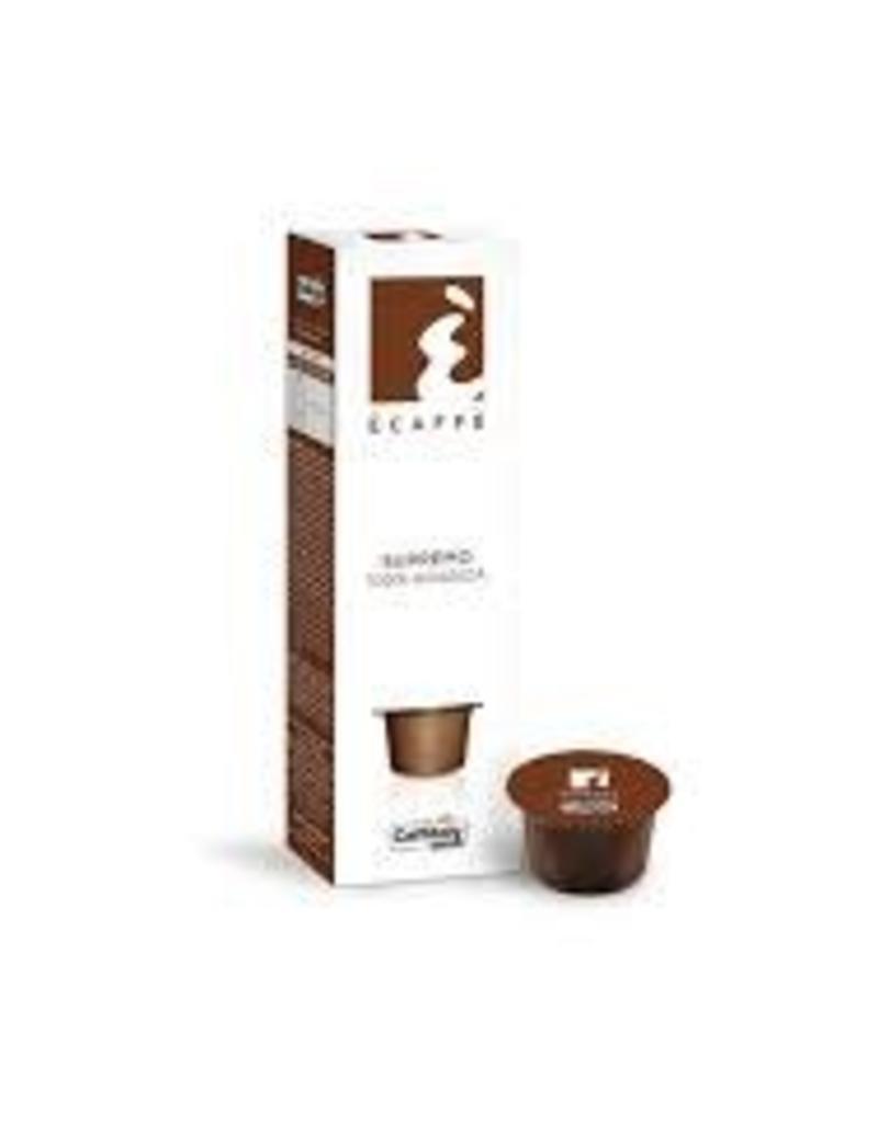 Capsules café Supremo par Caffitaly