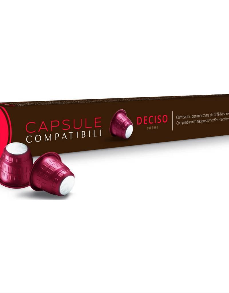 Comptatible avec Nespresso, Capsules Caffitaly - Deciso