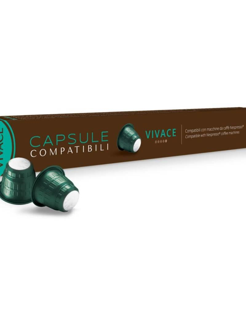 Comptatible avec Nespresso, Capsules Caffitaly- Vivace