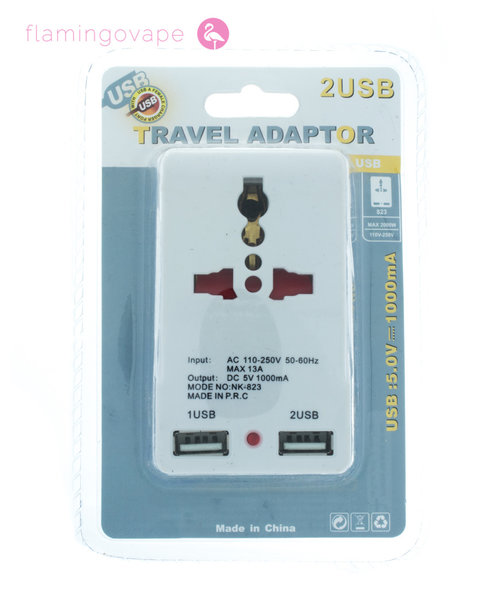 European Travel Adapter - Wall Plug