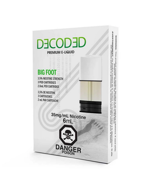 STLTH Pods Bigger Foot by Decoded