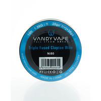 Vandyvape Triple Fused Clapton Wire Ni80