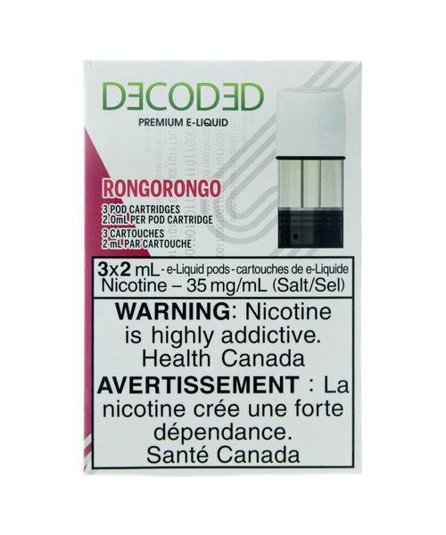 STLTH Pods Decoded RONGORONGO