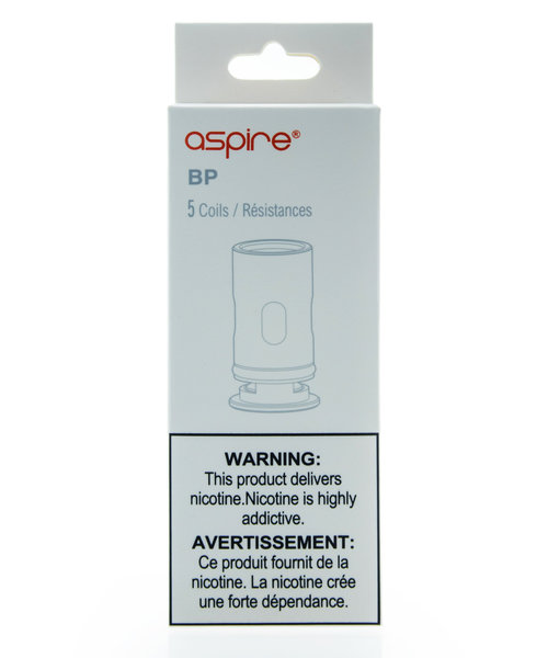 Aspire BP60 Replacement Coils 5 Pack