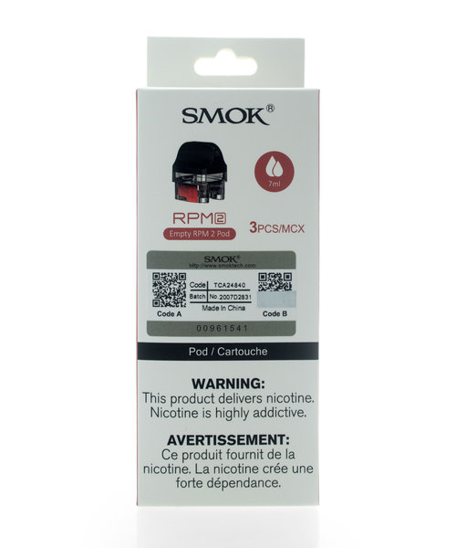 SMOK RPM 2 Empty Pods 3-Pack