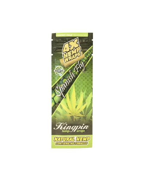 KingPin Hemp Wraps 4 Pack