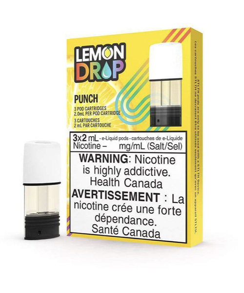 STLTH Pods Lemon Drop Punch