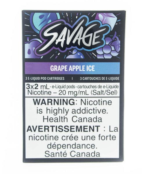 STLTH Pods Savage Grape Apple Ice