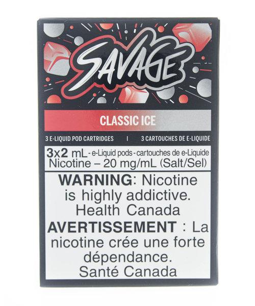 STLTH Pods Savage Classic Ice