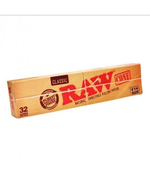 Raw Cones 1 1/4 32 Pack