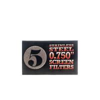 Pipe Screen (Pack of 5)