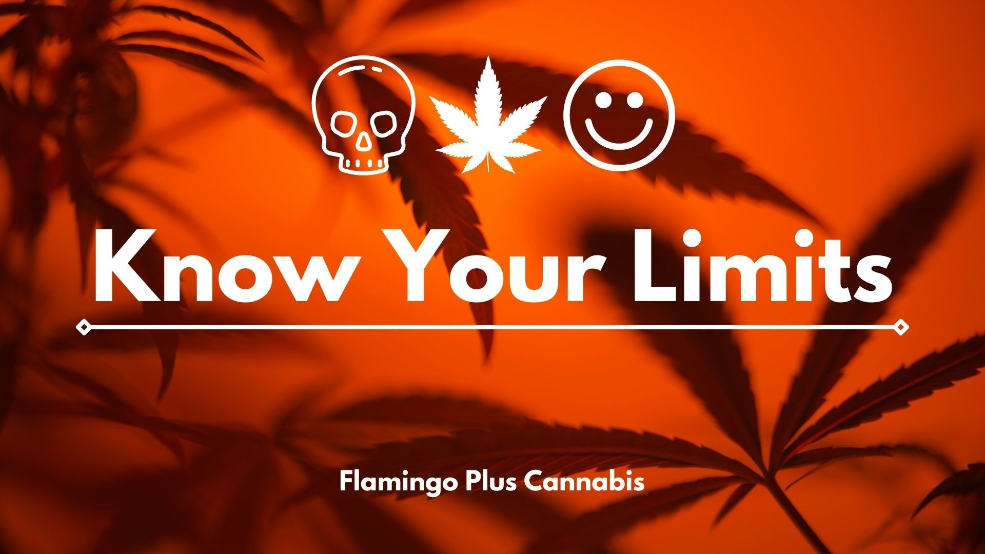 Know your limits. Cannabis
