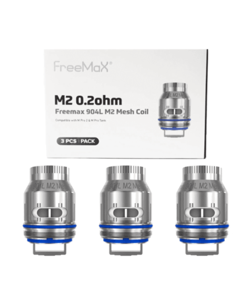 FreeMax M Pro 904L Replacement Coils (Pack of 3)