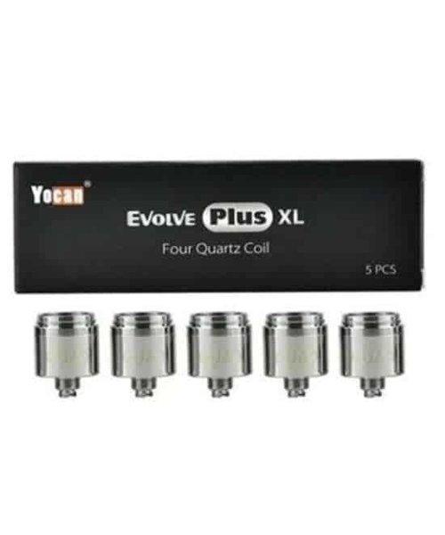 YoCan Evolve Plus XL Quad Coils Pack of 5