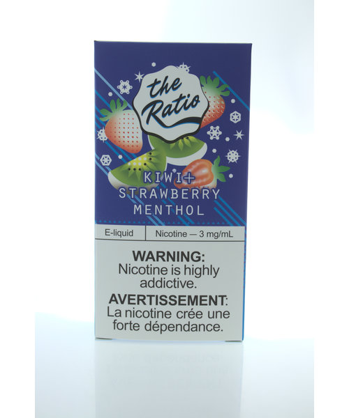 The Ratio Dual-Box Kiwi Strawberry Menthol [120mL]