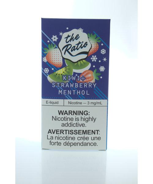 The Ratio Dual-Box Kiwi Strawberry Menthol Salt [60mL]
