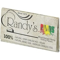 Randy's Roots Wired Natural Hemp Rolling Papers 1 1/4