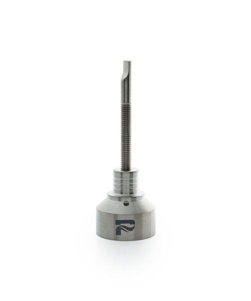 Pulsar Titanium Carb Cap W/ Hole & Titanium Dabber 14mm