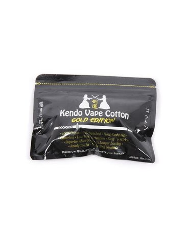 Kendo Kendo vape cotton - Gold Edition