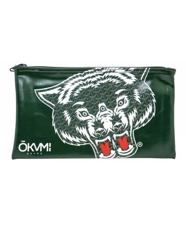 OKVMI WOLVES MONEY BAG (GREEN)