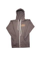 Hooded Full-Zip Sweatshirt Adult Charcoal