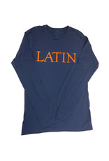 T-Shirt LS Navy LATIN