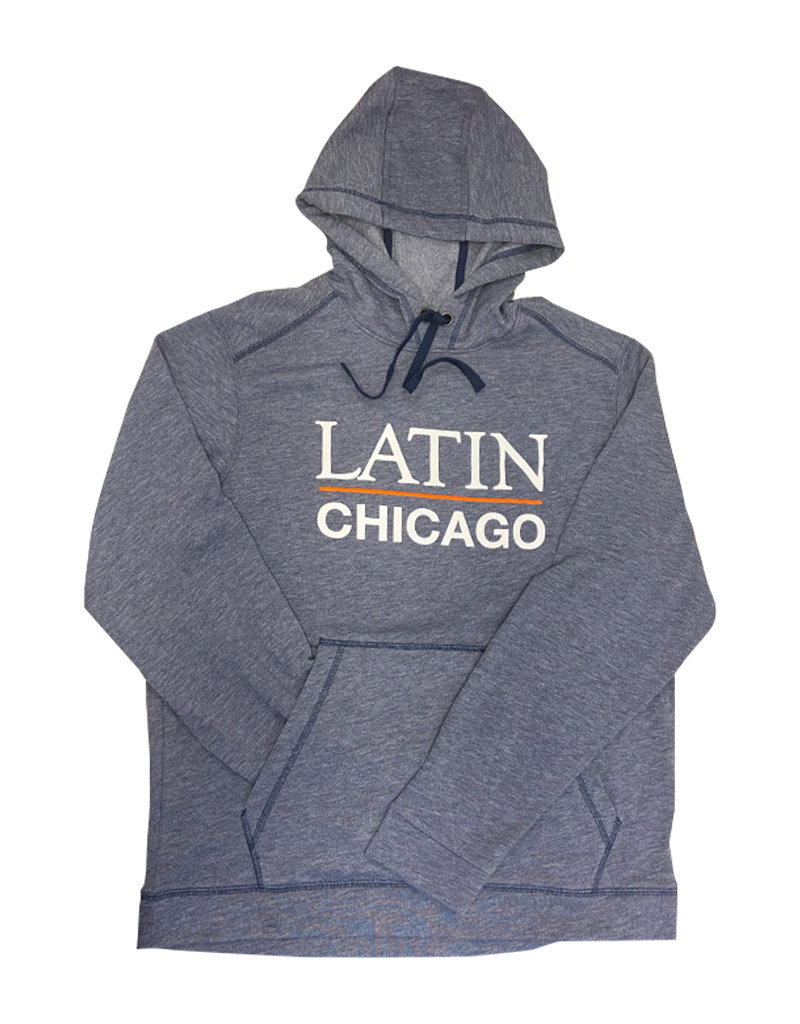 Sweatshirt Hooded Performance Heather Navy