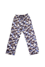 Pants Flannel Youth Blue Camo