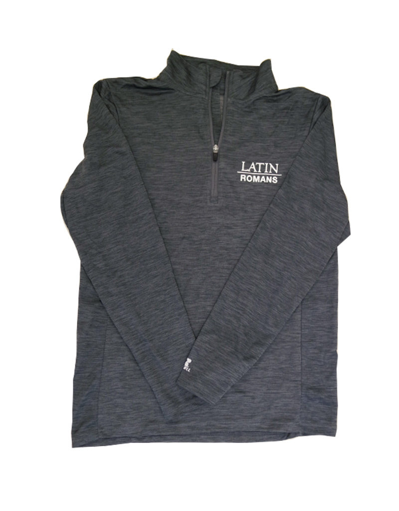 Pullover Performance 1/4 Zip Dark Gray