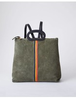 Clare V MARCELLE BACKPACK ARMY GREEN