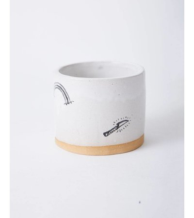 Long Lost Ceramics SMALL STICK-N-POKE VASE