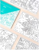 OMY ATLAS COLORING POSTCARDS