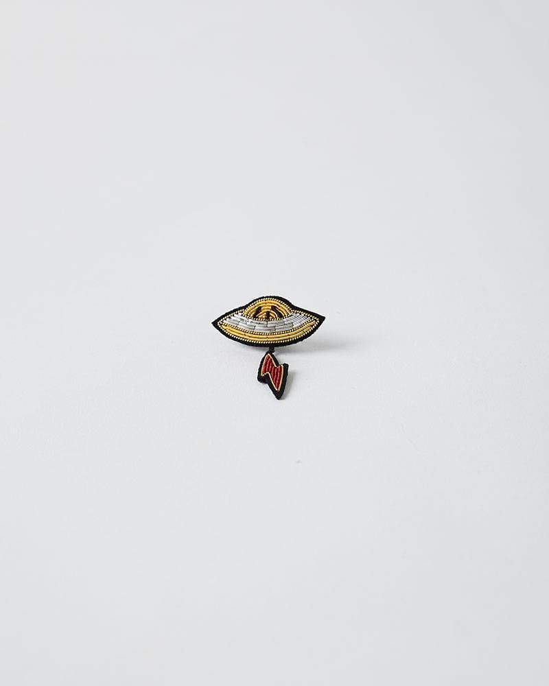 Macon & Lesquoy SPACESHIP PIN