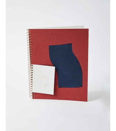 Moglea PAINTED NOTEBOOK